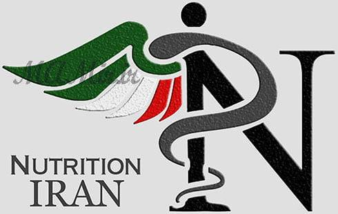 طراحی گرافیکی لوگو تغذیه ایران