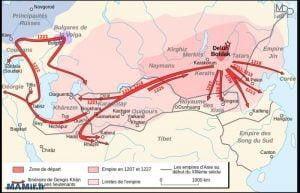 حملات چنگیز خان مغول