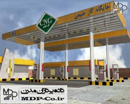 آدرس پمپ های گاز مشهد
