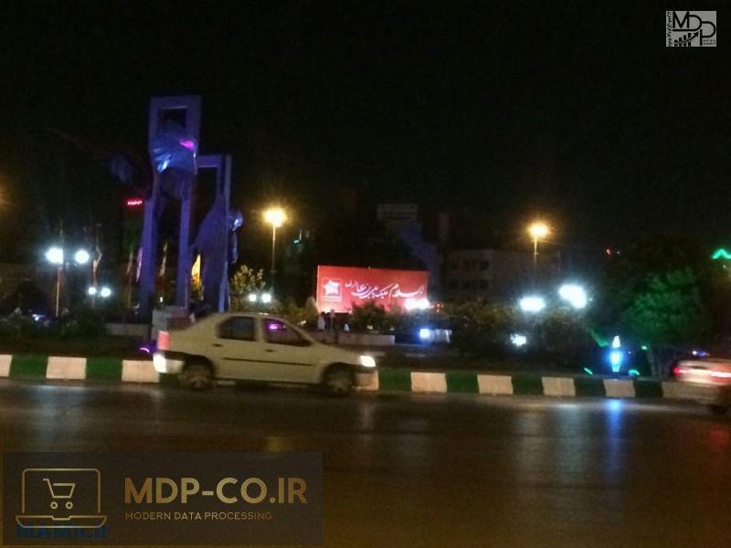 تبلیغات پدیده شاندیز در میدان پانزده خرداد