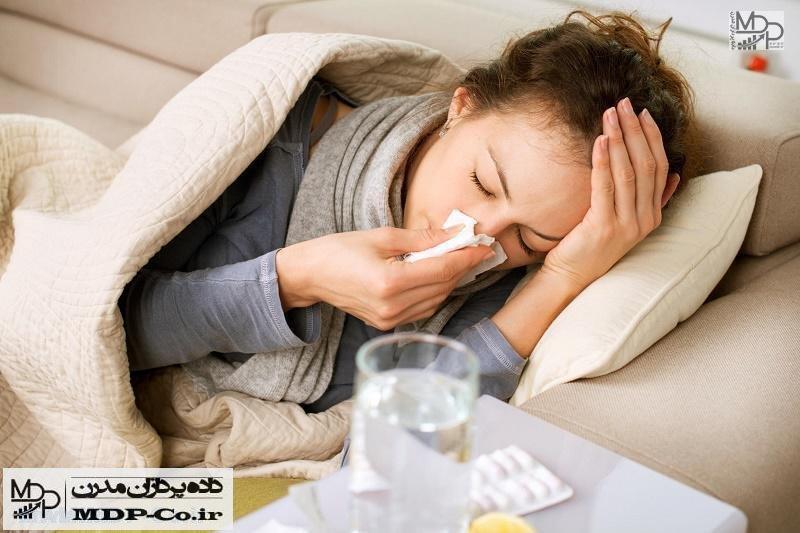 درمان سرما خوردگی | علائم ، غذاها ، دارو