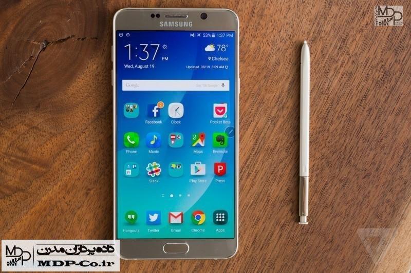 گلکسی نوت ۵ سامسونگ : مشکلات رایج و راه حل | Samsung Galaxy Note5