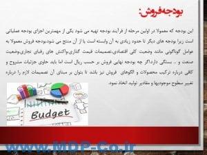 دانلود پاورپوینت بودجه بندی کامل - مبانی و مقاصد بودجه