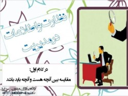 پاورپوینت کنترل نظارت و اطلاعات در مدیریت