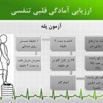 پاورپوینت آزمون های خودارزیابی آمادگی جسمانی - چربی،قبلی،عضلانی،انعطاف،تعادل