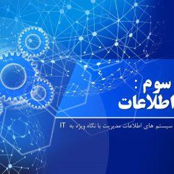 پاورپوینت داده و اطلاعات – فصل3 سیستم های اطلاعات مدیریت با نگاه ویژه به IT